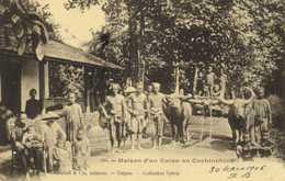 Maison D' Un Colon En Cochinchine 2 RV - Viêt-Nam