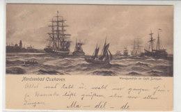 Cuxhaven - Wandgemälde Im Cafe Schleyer - 1907 - Cuxhaven