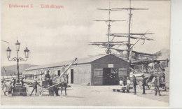 Kristiansand S. - Toldbodbryggen - 1910 Segelschiff, Einspänner, .. - Noorwegen