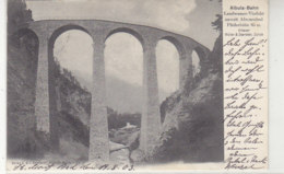 Albula-Bahn - Landwasser-Viadukt Unweit Alveneubad - 1903 Nach Cranz (Selenogradsk) - GR Grisons