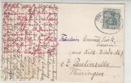 BAHNPOST COBURG-LAUSCHA ZUG 759 7.8.09 - Alemania