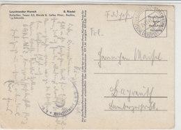 Feldpost über DDP B&M Aus KÖNIGSGRÄTZ 24.11.41 Nach Bayreuth - Briefe U. Dokumente