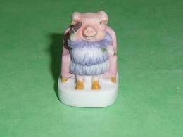 """Fèves / Animaux : Cochon   """" Mat """"  2007   T63 - Tiere"""