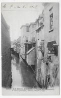 (RECTO / VERSO) LE VIEIL AMIENS EN 1907 - N° 120 - CANAL DU ROCQUET - BEAU CACHET - CPA VOYAGEE - Amiens