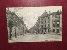 Cartolina Basel - Grenzacherstrasse - 1908 - Cartoline
