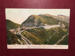 Cartolina Monte Generoso - Funicolare Al Monte Generoso Ultima Galleria - 1956 - Cartoline