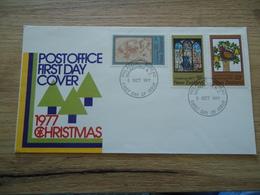 NEW ZEALAND FDC COVER CHRISTMAS  1977 - Christmas