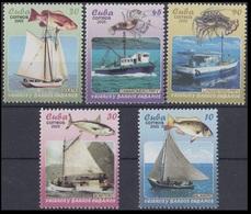 2005Cuba4706-4710Sea Fauna / Ships - Vie Marine