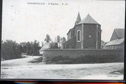 AISONVILLE  BERNOVILLE L EGLISE CP ALLEMANDE - Frankreich