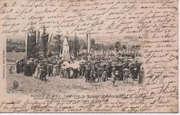 BLAMONT  INAUGURATION DU MONUMENT ELEVE AUX ENFANTS DU CANTON MORTS POUR LA PATRIE 10 JUIN 1906 - Blamont