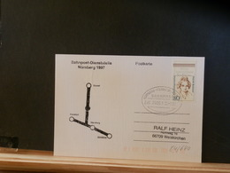 84/640 CP  ALLEMAGNE 1997  BAHNPOST - Storia Postale