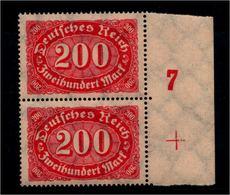 DEUTSCHES REICH 1922 Nr 248 Mit Plattennummer: 7 (94528) - Deutschland
