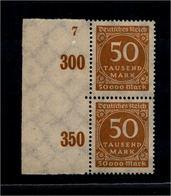 DEUTSCHES REICH 1923 Nr 275 Mit Plattennummer: 7 (94540) - Deutschland