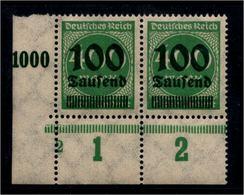 DEUTSCHES REICH 1923 Nr 290 Mit Plattennummer: 2 (94545) - Deutschland