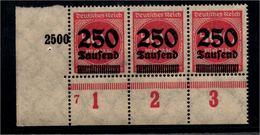 DEUTSCHES REICH 1923 Nr 295 Mit Plattennummer: 7 (94551) - Deutschland