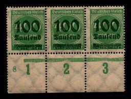 DEUTSCHES REICH 1923 Nr 290 Mit Plattennummer: 8 (94547) - Deutschland