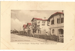 64 - HENDAYE - Plage -  Chalets Basques Et Boulevard 138 - Hendaye