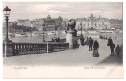 Stockholm - Utsigt Ifran Lejonbacken - édit. Franke & Co 173 + Verso - Schweden