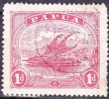 PAPUA 1911 1d Rose Pink SG92 Used - Papua New Guinea