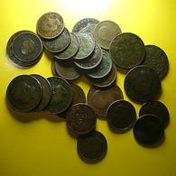Portugal 27 Coins Monarchy 5 And 10 Reis Some In Bad Grade - Mezclas - Monedas