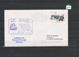 Briefumschlag    Mit Schiffstempel      Alexander Von Humboldt     In Funchal - Marítimo