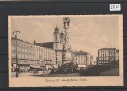 Ansichtskarte  Linz      Als Feldpost Gelaufen   Gebrauchsspuren - Sin Clasificación