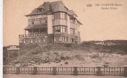 """Koksijde - Coxyde  - Bains : """" Suziki Hotel  """" , N° 162  P.I.B. - Koksijde"""