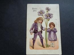 Enfant ( 4193 )   Kind  Carte Gaufrée   Reliëf - Enfants