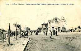 LACANAU OCEAN   = Place De La Gare Avenue De L'océan    1161 - Andere Gemeenten