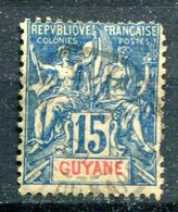 GUYANNE FRANCAISE - Y&T 35 - Usados
