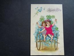Enfant ( 4200 )   Kind  Carte Gaufrée   Reliëf - Enfants