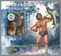 SIERRA LEONE 2019 MNH Prehistoric Humans Prähistorische Menschen Humains Prehistorique S/S - OFFICIAL ISSUE - DH1948 - Préhistoire