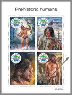 SIERRA LEONE 2019 MNH Prehistoric Humans Prähistorische Menschen Humains Prehistorique M/S - IMPERFORATED - DH1948 - Préhistoire