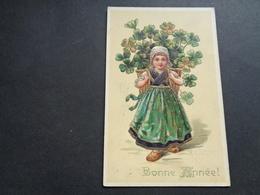Enfant ( 4204 )   Kind  Carte Gaufrée   Reliëf - Enfants