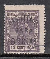 Elobey Sueltos 1908 Edifil 50E O - Elobey, Annobon & Corisco