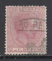 Fernando Poo Sueltos 1882 Edifil 6 O - Fernando Po