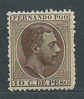 Fernando Poo Sueltos 1882 Edifil 8 * Mh - Fernando Po