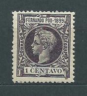 Fernando Poo Sueltos 1899 Edifil 55 * Mh - Fernando Po