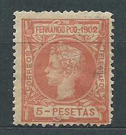 Fernando Poo Sueltos 1902 Edifil 117 * Mh - Fernando Poo