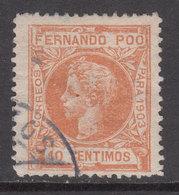 Fernando Poo Sueltos 1905 Edifil 125 O - Fernando Po