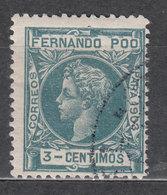 Fernando Poo Sueltos 1903 Edifil 122 O - Fernando Po
