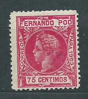 Fernando Poo Sueltos 1903 Edifil 129 O - Fernando Po