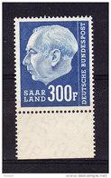 SARRE, MI 428, Y&T 410 ** MNH. (4A179) - 1957-59 Fédération
