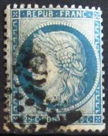 FRANCE                  N° 60 B                   OBLITERE - 1871-1875 Cérès