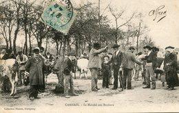 CARHAIX *** MARCHE AUX BESTIAUX  *** - Carhaix-Plouguer