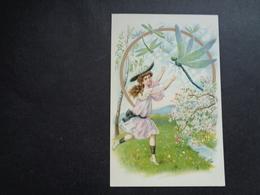 Enfant ( 4210 )   Kind  Carte Gaufrée   Reliëf - Enfants