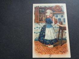 Enfant ( 4213 )   Kind  Carte Gaufrée   Reliëf - Enfants