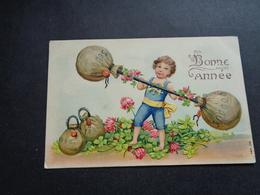Enfant ( 4218 )   Kind  Carte Gaufrée   Reliëf - Enfants
