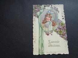 Enfant ( 4219 )   Kind  Carte Gaufrée   Reliëf - Enfants