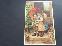 Enfants ( 4223 )   Enfant  Kinderen   Kind  Carte Gaufrée   Reliëf - Enfants